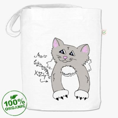 Сумка Мой внутренний кот (Дымок)