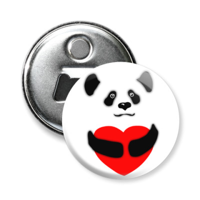 Магнит-открывашка Панда