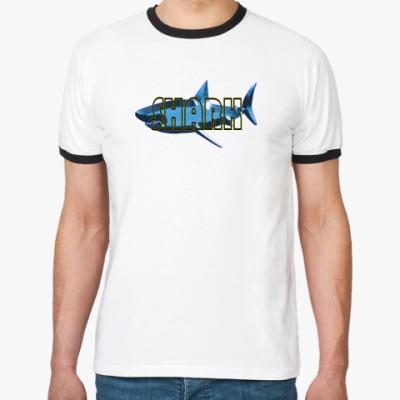 Футболка Ringer-T Shark