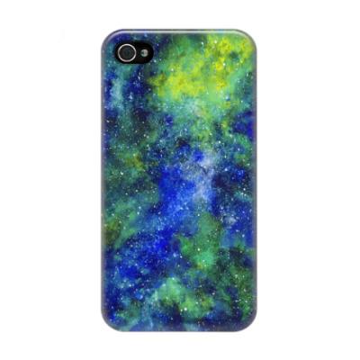 Чехол для iPhone 4/4s Космос