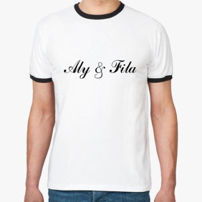 Футболка Ringer-T Aly & Fila