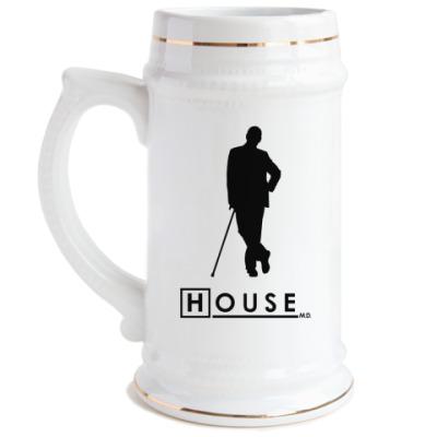Пивная кружка Доктор Хаус