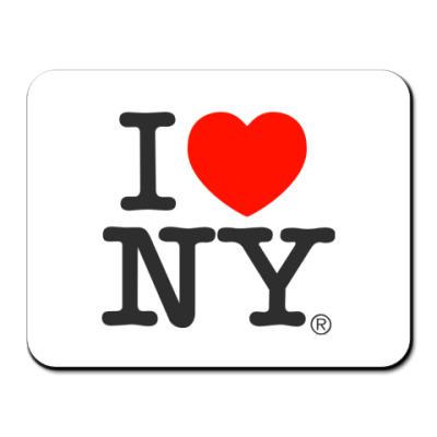Коврик для мыши I love NY