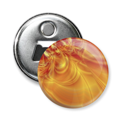 Магнит-открывашка Огонь