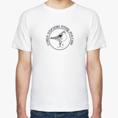 Футболка Союз охраны птиц России (логотип)