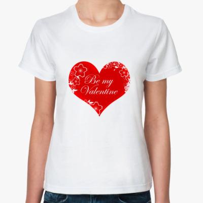 Классическая футболка Valentine