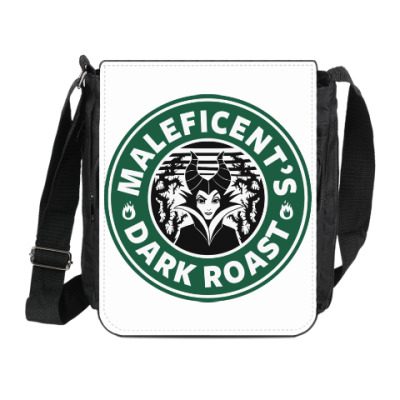 Сумка на плечо (мини-планшет) Maleficents Dark Roast