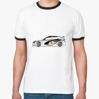 Футболка Ringer-T Subaru Impreza