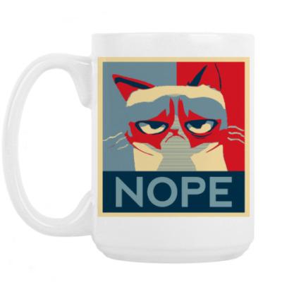 Кружка Grumpy cat - NOPE