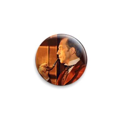 Значок 25мм Шерлок Холмс (OTH31)