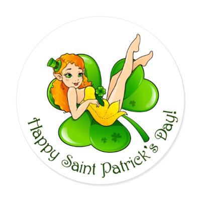 Виниловые наклейки Happy St. Patrick's Day!