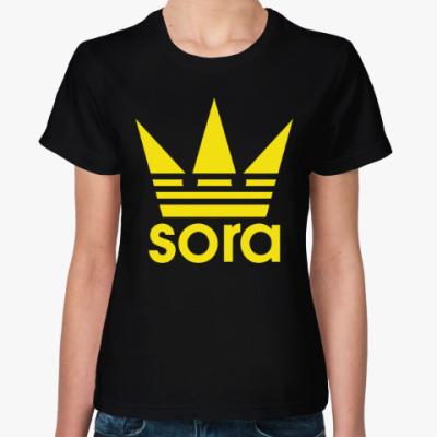 Женская футболка Корона