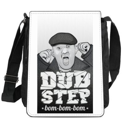 Сумка-планшет Дед бом бом бам бам dub step