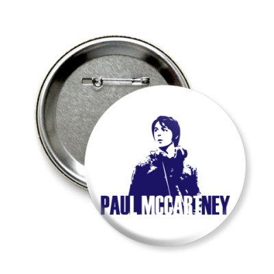Значок 58мм  Paul McCartney 58 мм