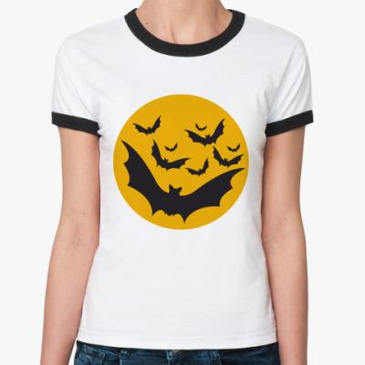 Женская футболка Ringer-T   Мыши
