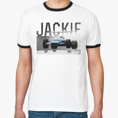 Футболка Ringer-T 'Great Сhampions'.Jackie