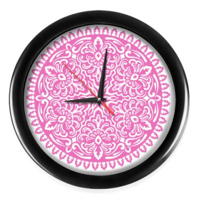 Настенные часы Мандала