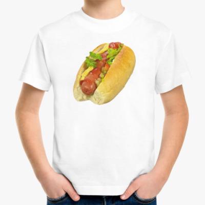 Детская футболка  Хот-Дог