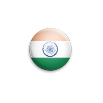 Значок 25мм India