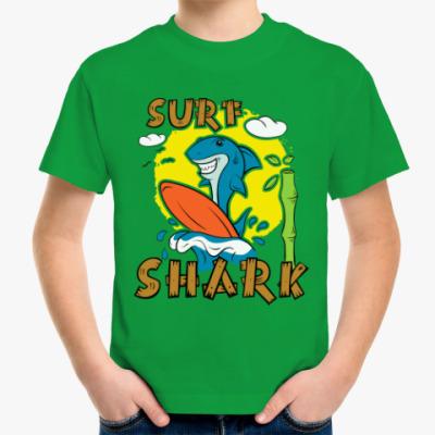 Детская футболка Surf Shark