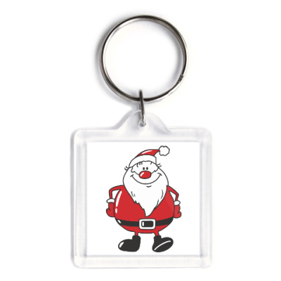 Брелок Санта Клаус