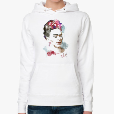 Женская толстовка худи Фрида Кало - художница