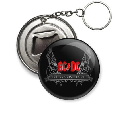Брелок-открывашка AC/DC