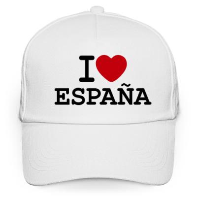 Кепка бейсболка I Love España