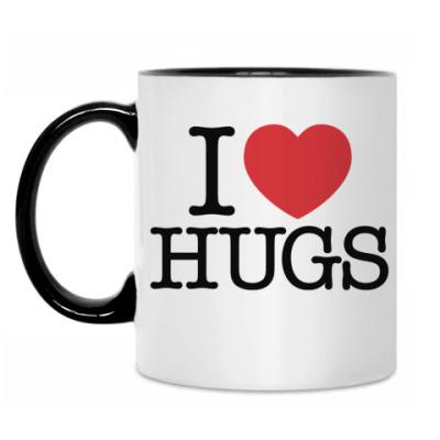 Кружка I love HUGS