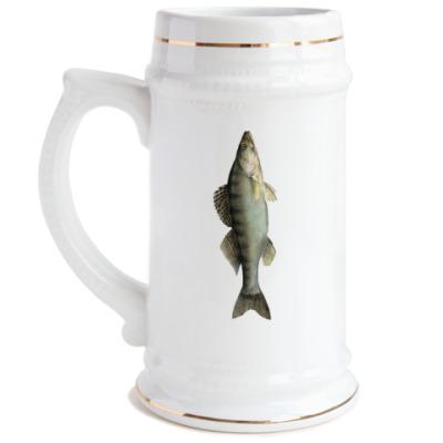 Пивная кружка Рыба