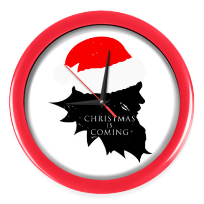 Настенные часы Christmas is coming