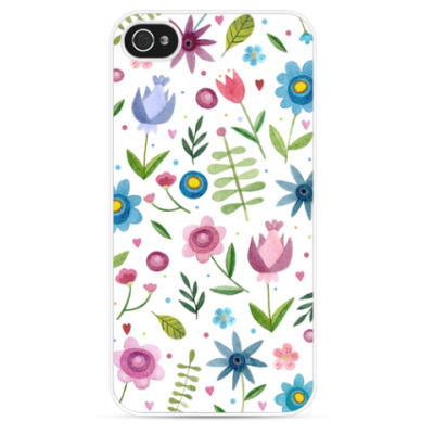 Чехол для iPhone Летние цветы