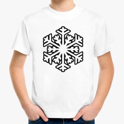 Детская футболка 'Снежинка'