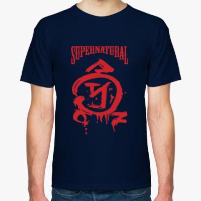 Футболка Supernatural - Знак Ангела