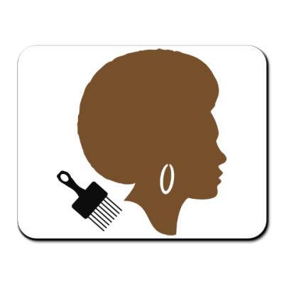 Коврик для мыши Afro Lady