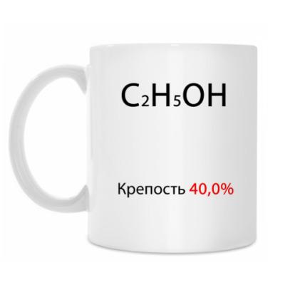 Кружка 'C2H5OH'