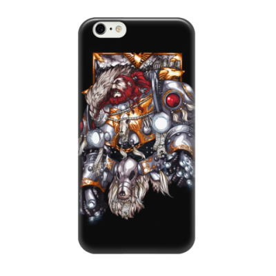 Чехол для iPhone 6/6s Leman Russ the Primarch of the Space Wolves