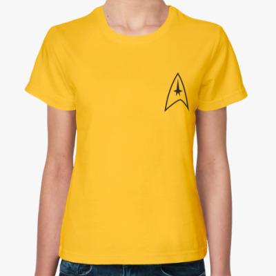Женская футболка Captain uniform (STR11)