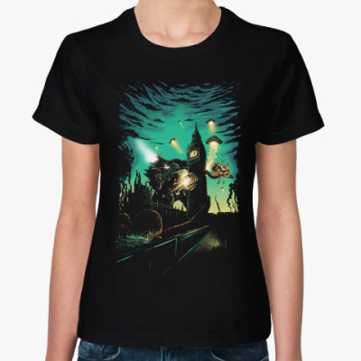 Женская футболка Пришельцы