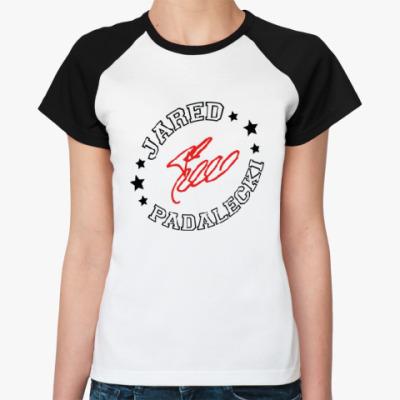 Женская футболка реглан Джаред Падалеки - Supernatural