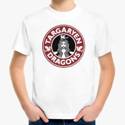 Детская футболка Драконы Таргариен