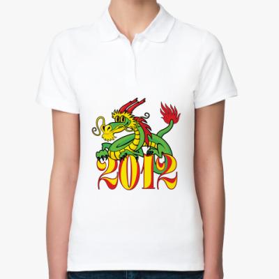 Женская рубашка поло Дракон 2012