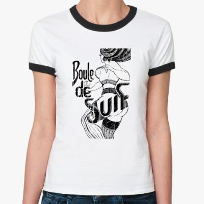 Женская футболка Ringer-T BouleDeSuif