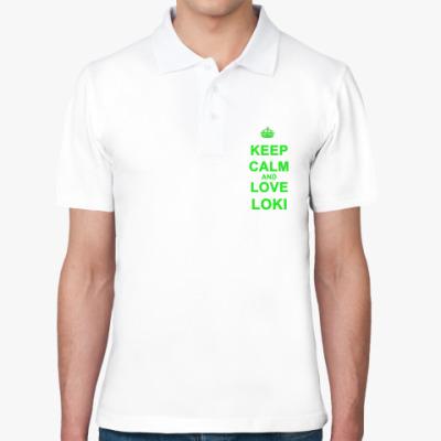 Рубашка поло  Love Loki