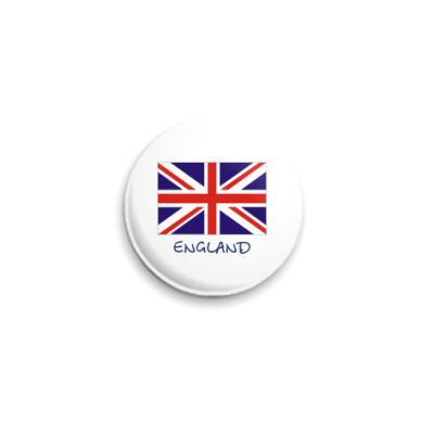 Значок 25мм Англия