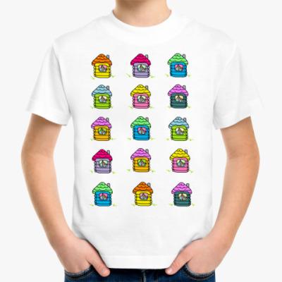 Детская футболка Детская футболка Sweet home