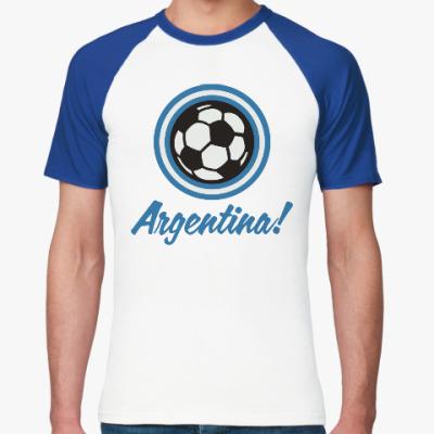 Футболка реглан Аргентина