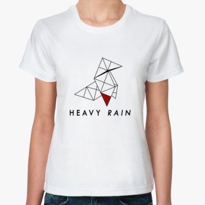 Классическая футболка Heavy Rain