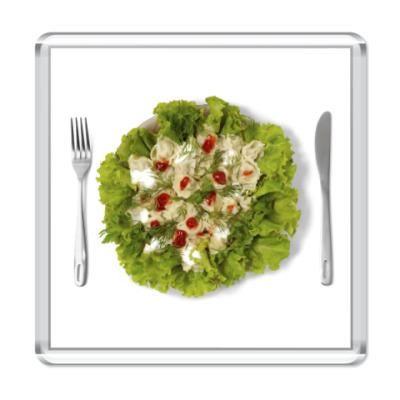 Магнит салат