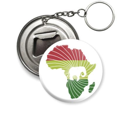 Брелок-открывашка Африканский слон